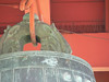 Ugly closeup of the hanger portion of the Friendship Bell.  Too much detail -- we really don't want to see the bird deterent, the poop, the rust, and we can't see the detail of the hanger.  I'd delete it if it weren't such a great example of what NOT to shoot....