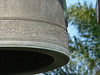 Now this one I kinda like -- closeup of the casting detail on the Bell, and the palm fronds OOF in the background