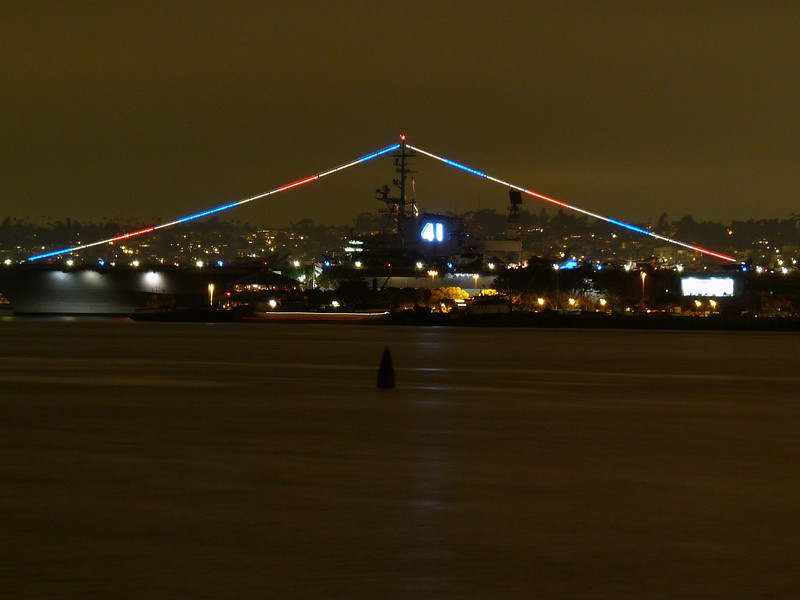 The Midway, slightly out of focus