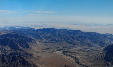 View of the Namib desert enroute to Sossusvlei