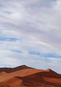 Dunes at Sossusvlei, Namibia; June 2008