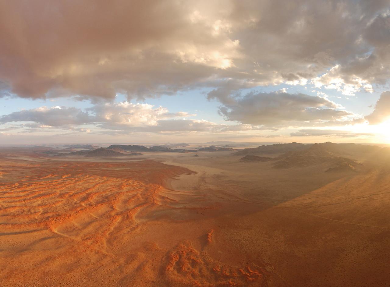 Rainfall in the Namib