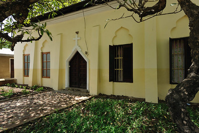 Stone Town, Zanzibar Local accomodation for St. Monica's Church, possibly the parsonage.
