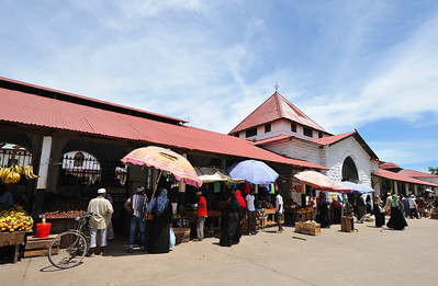 The Market in Stone Town, Zanzibar