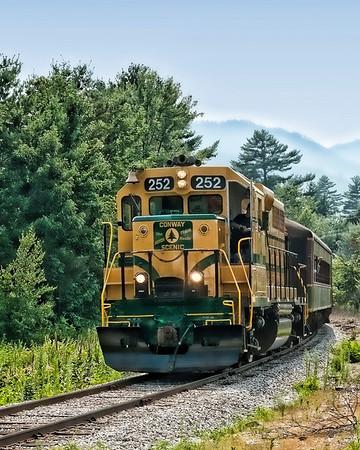 Conway Scenic Railroad No 252