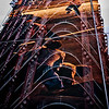 Trapped for all Time – Vancouver artist Stan Douglas created a mural in the old Woodward's building depicting the 1971 Gastown Riots. The building reflected against the mural unites past and present. I feel this epitomizes the power of a photograph, trapping a moment for time, eventually fading away as do memories.