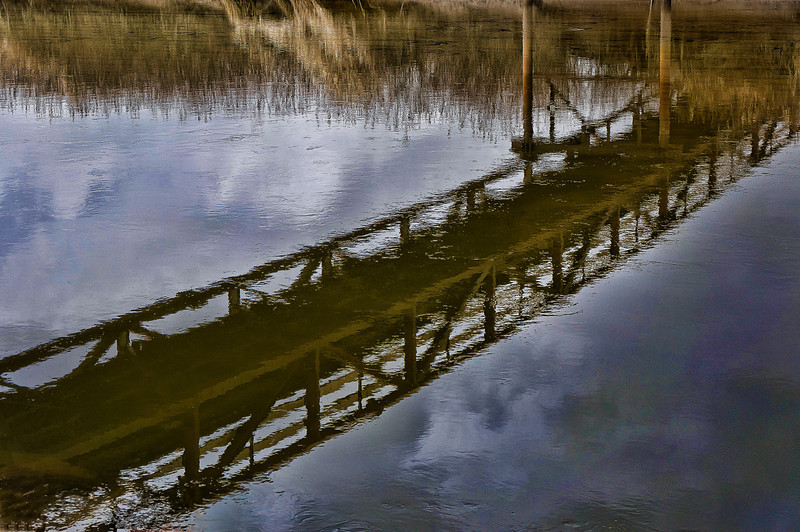 Bridge – Another example of a traditional water reflection, this was taken during a walk at Colony Farms in Port Coquitlam in early spring. The colours in the water drew me in to the scene and prompted me to capture this image.