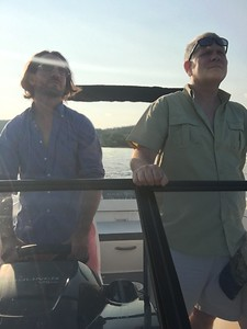 Out on Stu's Boat August 20, 2017