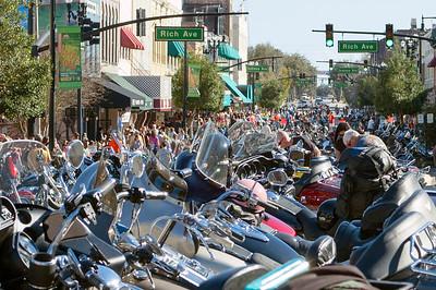 Mainstreet DeLand's Motorcyle Mania