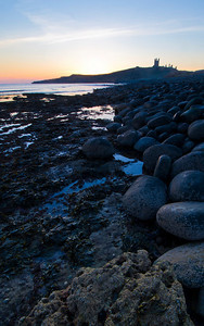 Dunstanburgh Castle - Early January Morning