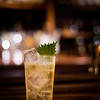 Shiso Highball (Nikka 12-year, shiso, lemon and soda). © 2016 Sugar + Shake