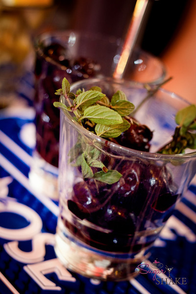 Garnishes for one of the competitors. © 2012 Sugar + Shake