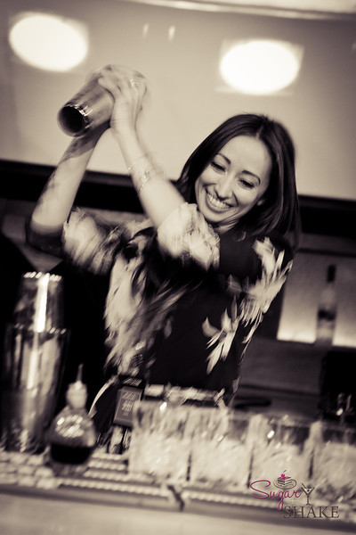 Maria Burke representing St. Germain and Imbibe Hawaii. © 2012 Sugar + Shake