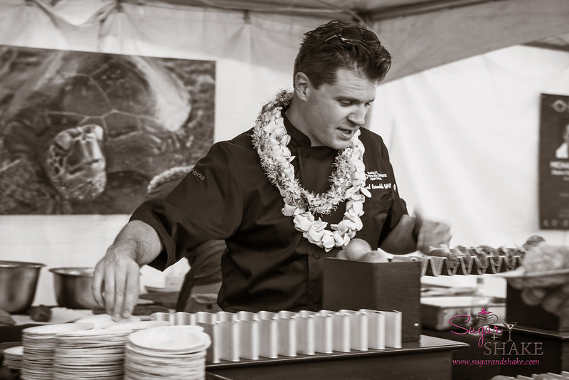 Hawai'i Food & Wine Festival 2013; Savory Ever After event: Chef Richard Rosendale (U.S.A. Representative, Bocuse d'Or 2013) © 2013 Sugar + Shake