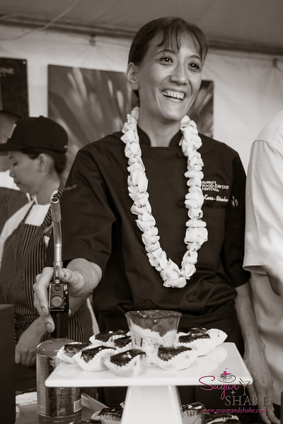 Hawai'i Food & Wine Festival 2013; Savory Ever After event: Chef Michelle Karr-Ueoka (MW Restaurant). © 2013 Sugar + Shake