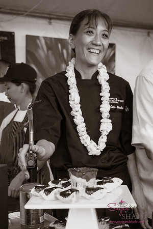 Hawai'i Food & Wine Festival 2013; Savory Ever After event: Chef Michelle Karr-Ueoka (MW Restaurant). © 2013 Sugar + Shake