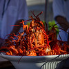 Hawai'i Food & Wine Festival 2013; Taste our Love for the Land event: Lobsters at Chef Chris Cosentino's station. © 2013 Sugar + Shake