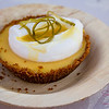 Hawai'i Food & Wine Festival 2013; Savory Ever After event: Chef Nancy Silverton (Mozza) — Passion Fruit Pie with Crème Fraiche. Local producers: Wailea Agricultural Group. © 2013 Sugar + Shake