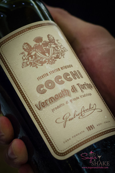 Hawai'i Food & Wine Festival 2013; Sweet Endings, Sweet Wines seminar: Cocchi Vermouth di Torino. © 2013 Sugar + Shake