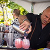Hawai'i Food & Wine Festival 2013; Taste our Love for the Land event: Mixologist Tony Abou-Ganim (The Modern Mixologist) pouring cocktails. © 2013 Sugar + Shake