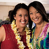 Hawai'i Food & Wine Festival 2013; Taste our Love for the Land event: Mixologists Julie Reiner (Clover Club, Pegu Club) and Chandra Lam Lucariello (Southern Wine & Spirits). © 2013 Sugar + Shake