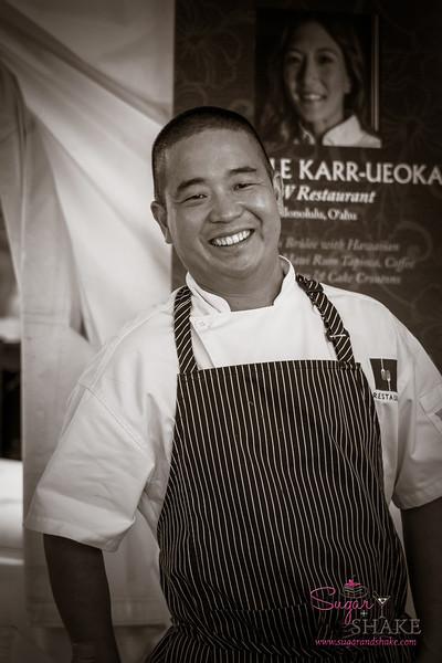 Hawai'i Food & Wine Festival 2013; Savory Ever After event: Chef Wade Ueoka (MW Restaurant). © 2013 Sugar + Shake