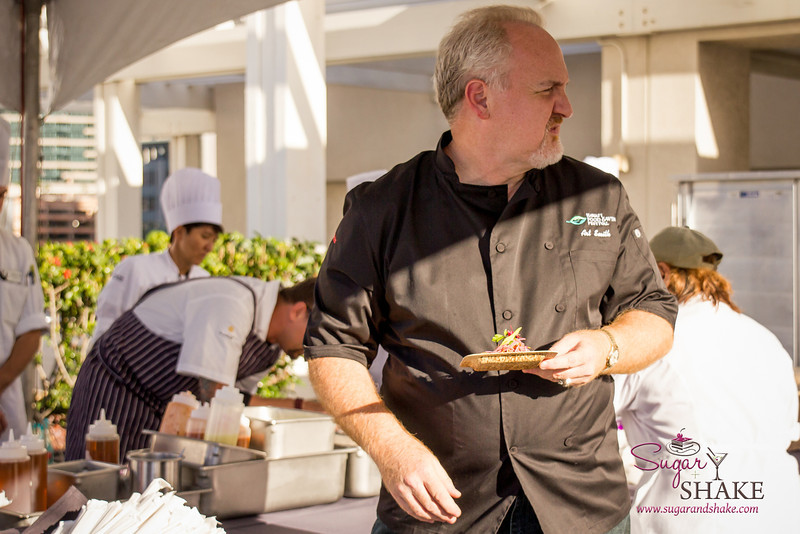 Hawai'i Food & Wine Festival 2013; Taste our Love for the Land event: Chef Art Smith (Table fifty-two). © 2013 Sugar + Shake