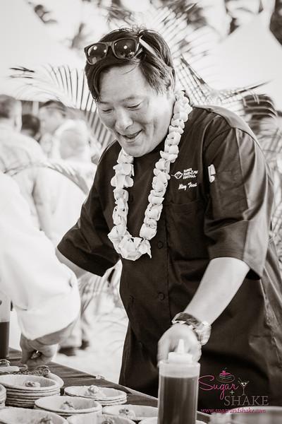 Hawai'i Food & Wine Festival 2013; Savory Ever After event: Chef Ming Tsai (Blue Ginger). © 2013 Sugar + Shake