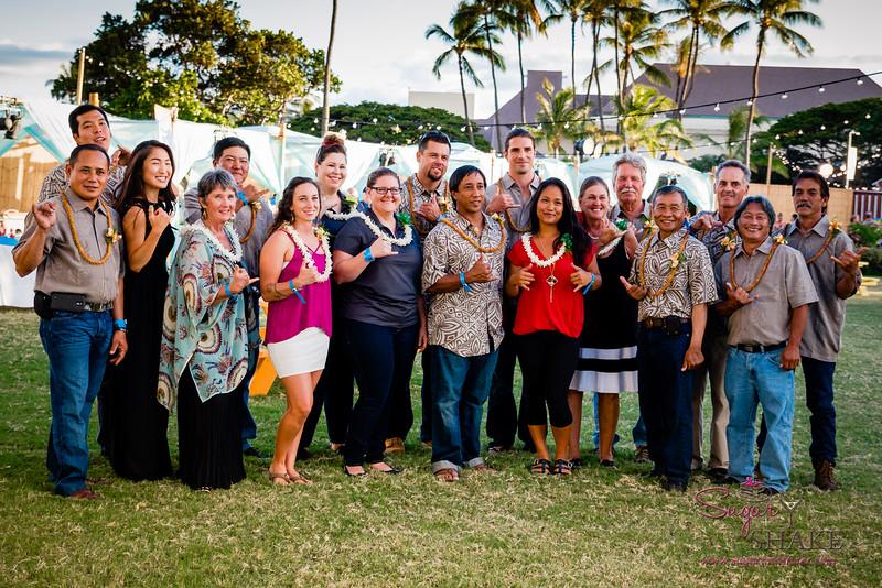 Kā'anapali Fresh 2014. Kā'anapali from Range to Sea Signature Event. Kā'anapali Fresh participating farmers. © 2014 Sugar + Shake