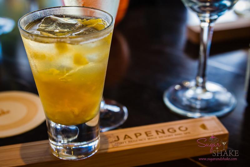 "Kā'anapali Fresh 2014. Media welcome at Japengo. ""Maui Tai"" cocktail. © 2014 Sugar + Shake"
