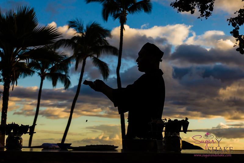 "Kā'anapali Fresh 2014. Japengo Maui sushi master Il Yuk ""Kaz"" Kim. © 2014 Sugar + Shake"
