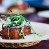 Kā'anapali Fresh 2014. 'Aha'āina O Kā'anapali. Adobo Braised Pork Belly with 'Ulu Puree. Joey Macadangdang, Roy's Kā'anapali. © 2014 Sugar + Shake
