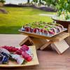 Kā'anapali Fresh 2014. Media welcome at Japengo. Sushi selection. © 2014 Sugar + Shake