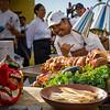 Kā'anapali Fresh 2014. Kā'anapali from Range to Sea Signature Event. Hyatt Maui's Pork-on-Pork Porchetta with cameo by Chef Gevin Utrillo of Japengo at Hyatt Maui. © 2014 Sugar + Shake