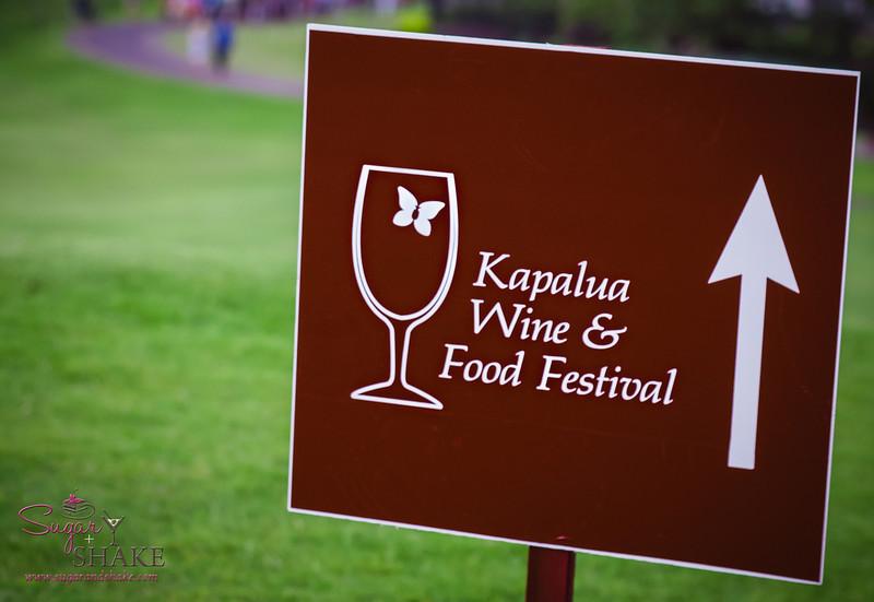 Kapalua Wine & Food Festival 2013. © 2013 Sugar + Shake
