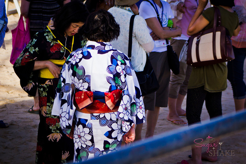 Some wear traditional kimono. © 2012 Sugar + Shake