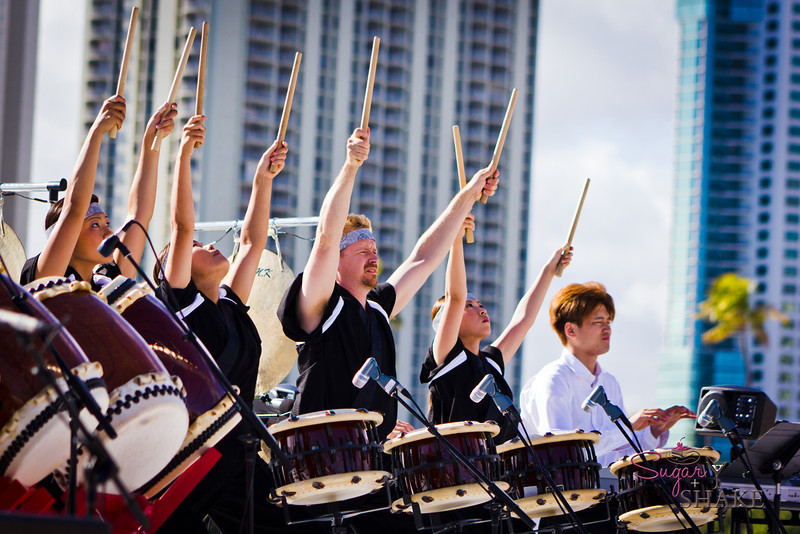 Shinnyo Taiko at Lantern Floating Hawai'i © 2012 Sugar + Shake