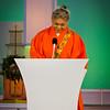 Her Holiness Keishu Shinso Ito, the spiritual head of the Shinnyo-en Buddhist Order. © 2012 Sugar + Shake