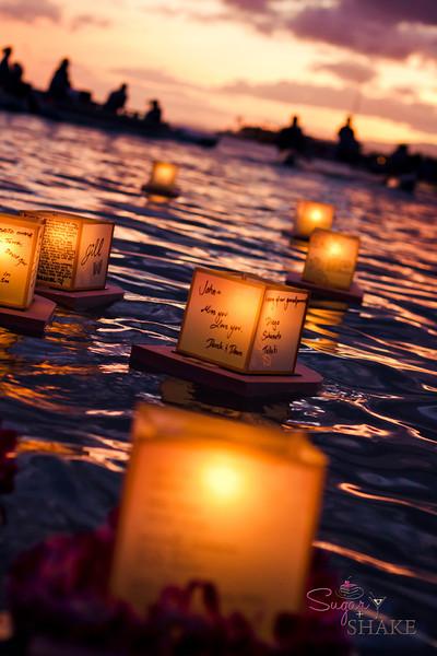 Lantern Floating Hawai'i © 2012 Sugar + Shake
