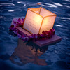 We and the family of a dear friend we lost last year were able to float lanterns in his honor. © 2012 Sugar + Shake