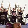 Taiko drummers from the Shinnyo-en taiko troupe. © 2013 Sugar + Shake