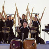 Taiko drummers from the Shinnyo-en taiko troupe. © 2013 Sugar + Shake