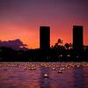 Lanterns on the water. Lantern Floating Hawaii 2013. © 2013 Sugar + Shake
