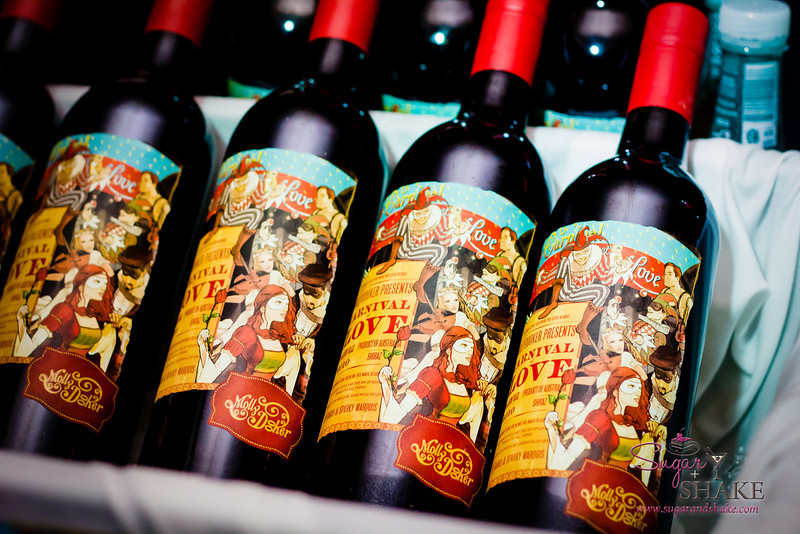 Bottles & bottles of Mollydooker Carnival of Love at the opening Grand Tasting event. © 2013 Sugar + Shake
