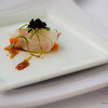 Hamachi and Tobiko Amuse Bouche. © 2013 Sugar + Shake