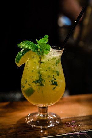 New Summer 2016 Menu Tasting at Pint + Jigger. The Brrr-jito. Yes, you guessed it: This is a play on the mojito, substituting beer for rum. © 2016 Sugar + Shake
