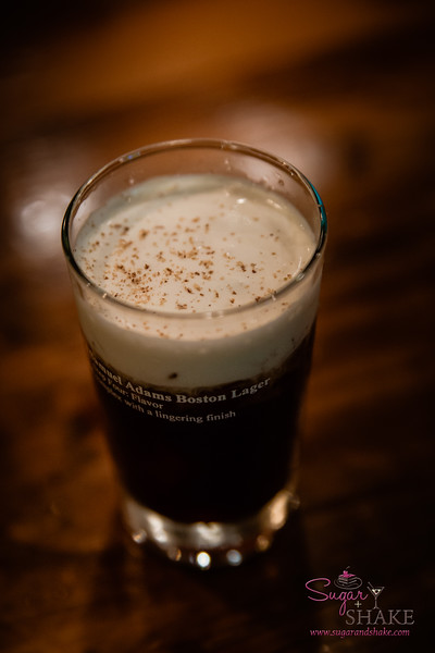 New Summer 2016 Menu Tasting at Pint + Jigger. Must have (Irish) coffee! The Iced Irish is the same old classic, but iced. © 2016 Sugar + Shake