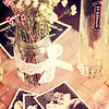 The focus of the evening was to introduce these new St-Germain carafes. Very cute. At Addiction, you can get them as an add-on to your bottle service. They're filled with the signature St-Germain Cocktail, a mix of Brut sparkling wine, soda and St-Germain. © Sugar + Shake
