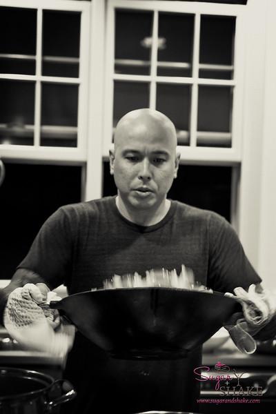 Chef Mark Pomaski. © 2017 Sugar + Shake