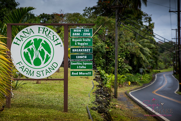 Hāna Fresh Farm Stand in Hāna, Maui. © 2015 Sugar + Shake